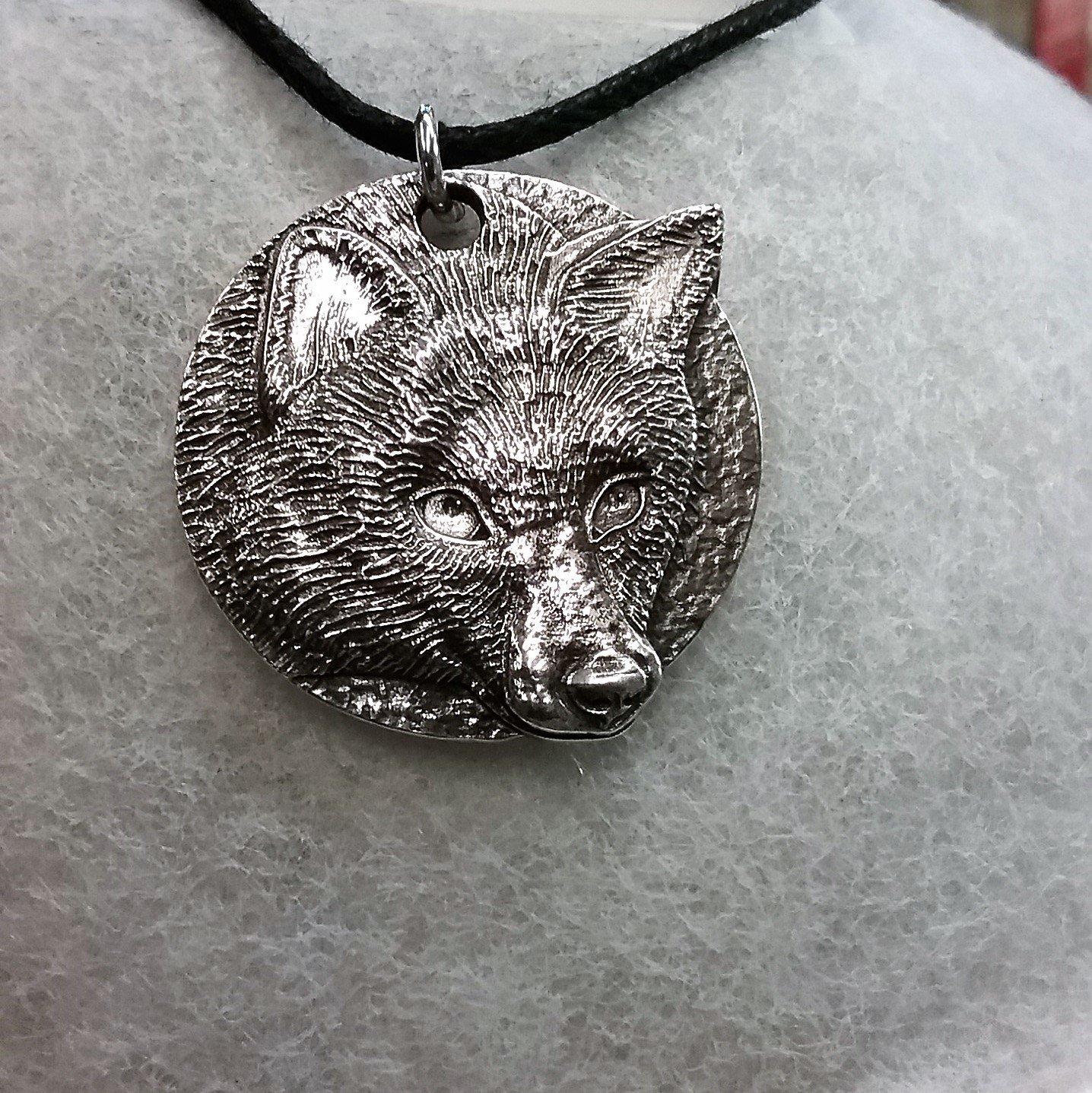 Harper Asprey Wildlife Rescue Fox pendant