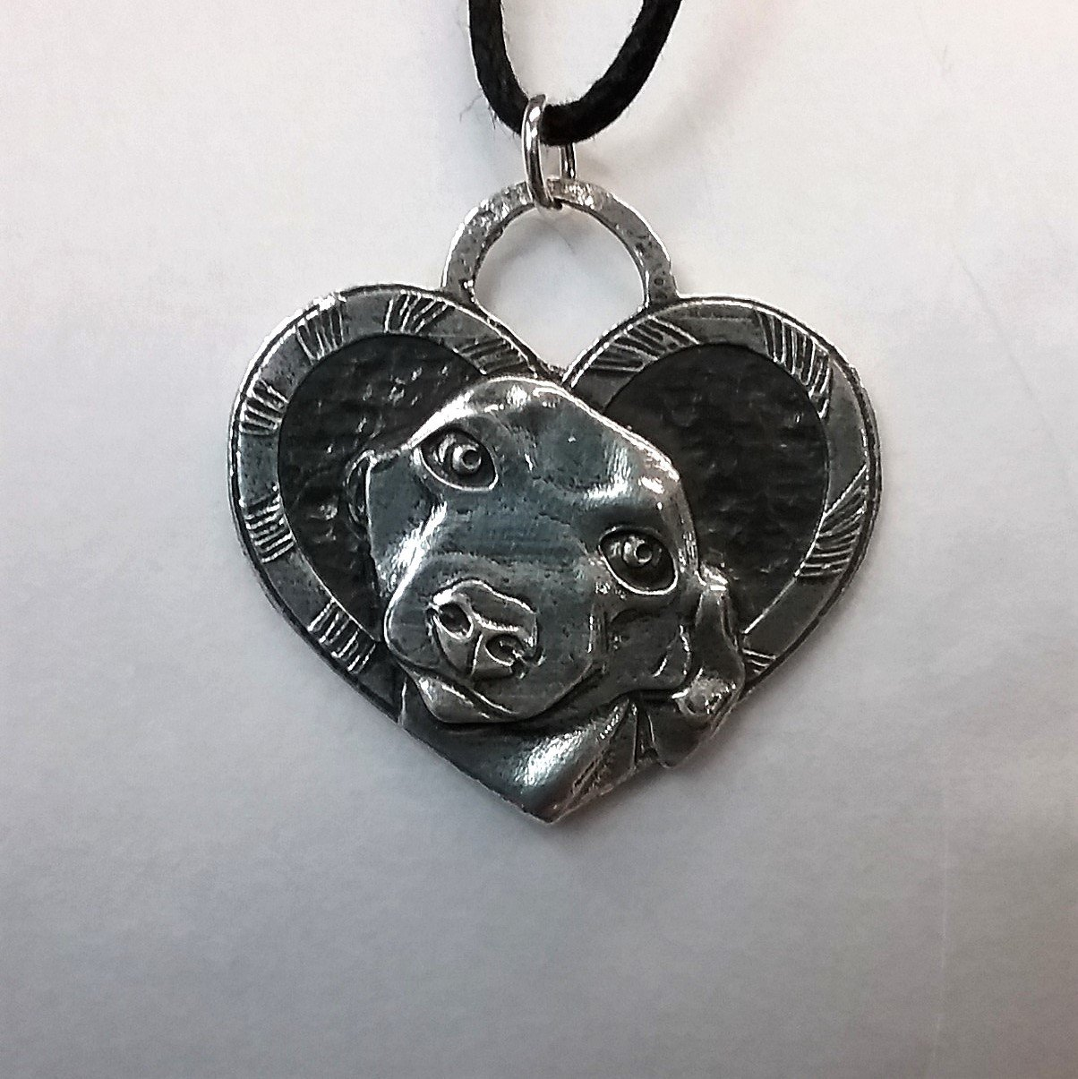 Candy Cane Rescue pendant by Nellie Doodles 1