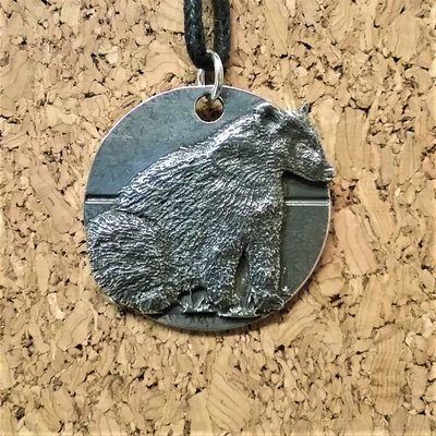 Badger pendant for Save Me Trust