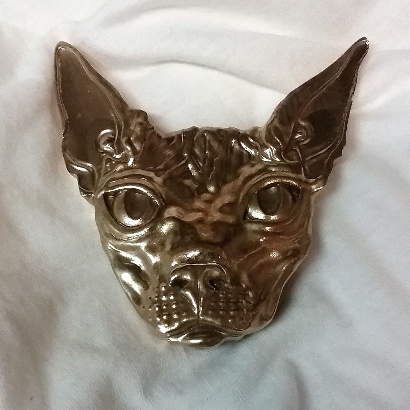 Hairless Egyptian Sphinx  Belt Buckle