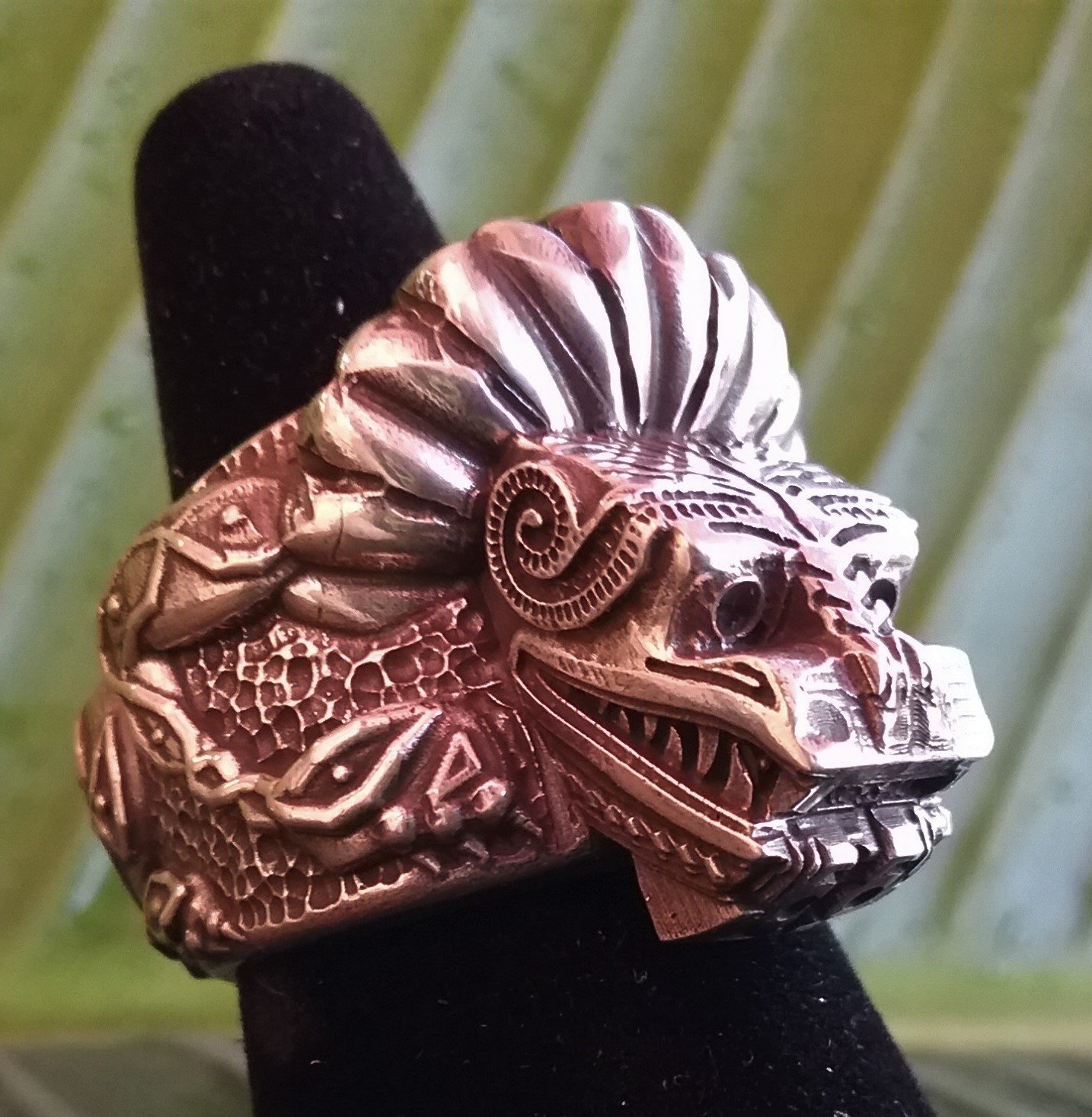 Mayan Jaguar ring