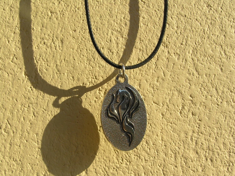 Galgos del Fenix Finland sterling silver pendant