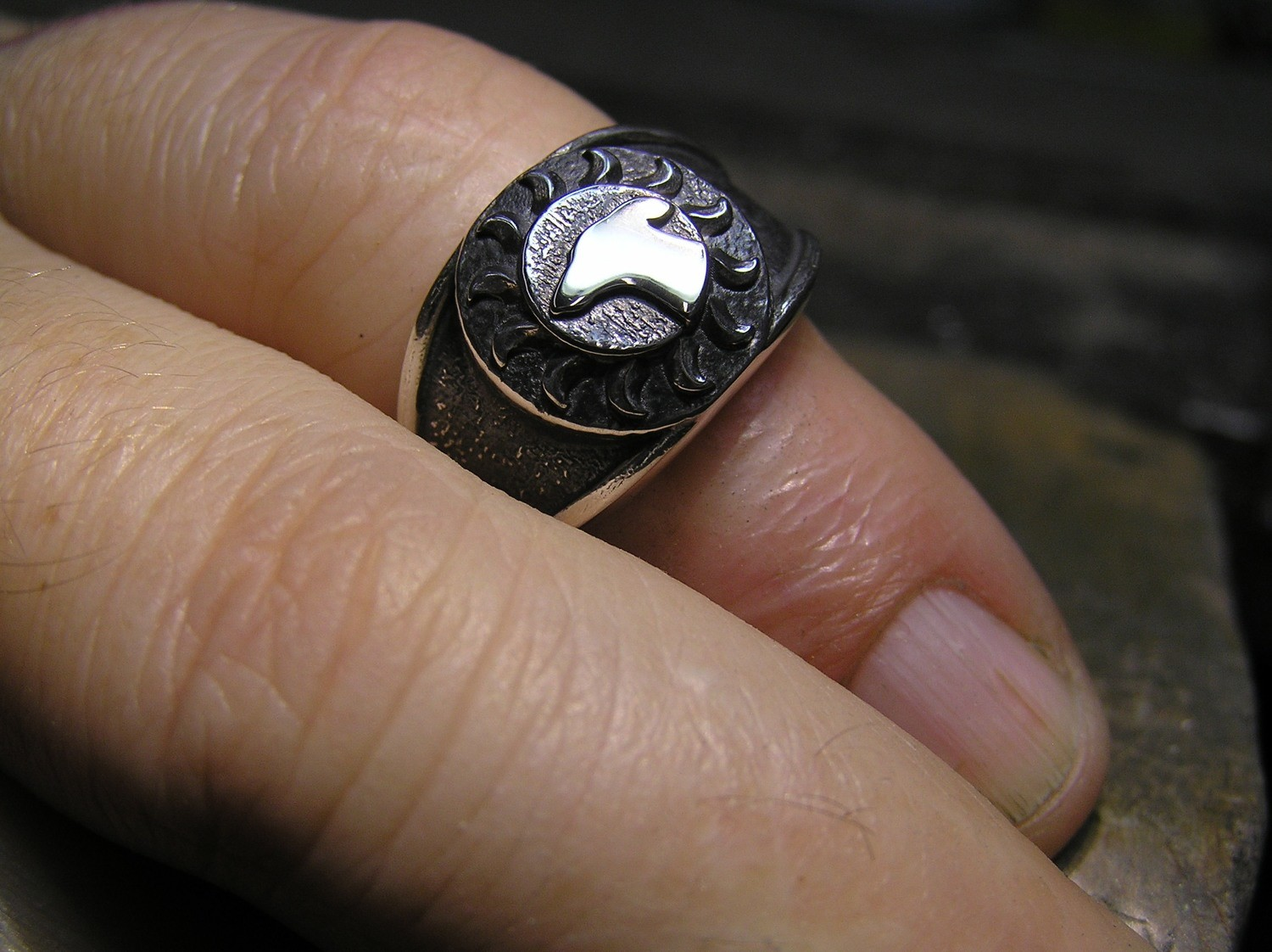 Galgos Del Sol Spain sterling ring