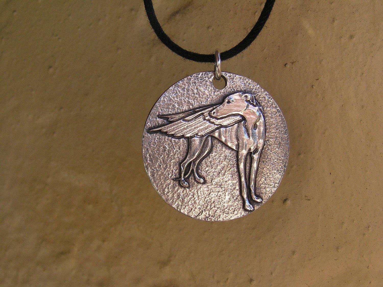 Memorial sterling silver pendant