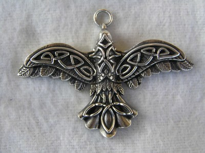 Starling Pendant Sterling Silver