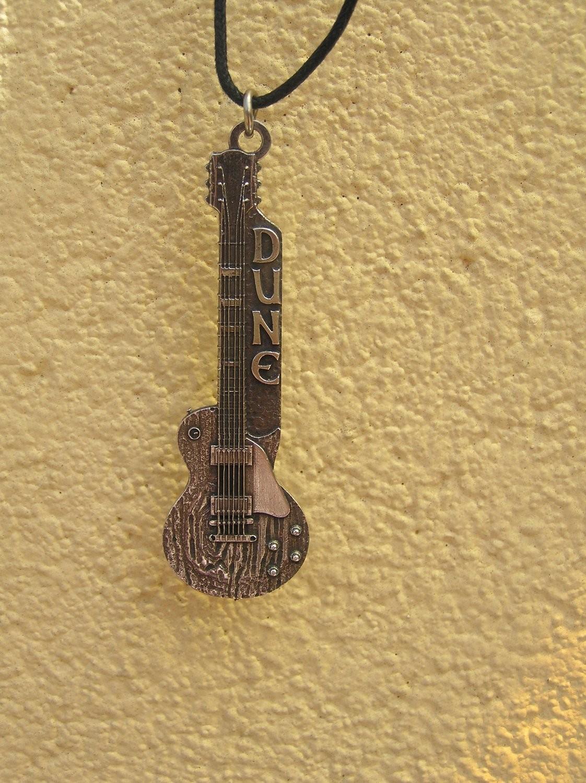 """The  Dan's guitar """"Dune"""""""
