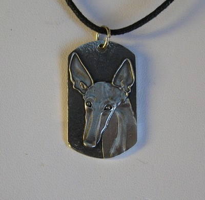 Podenco tag Pendant for Podencos Y Mas