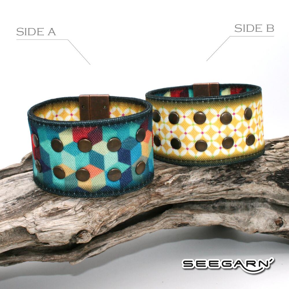 Seegarn Wende-Armband (Design M16 & M23)