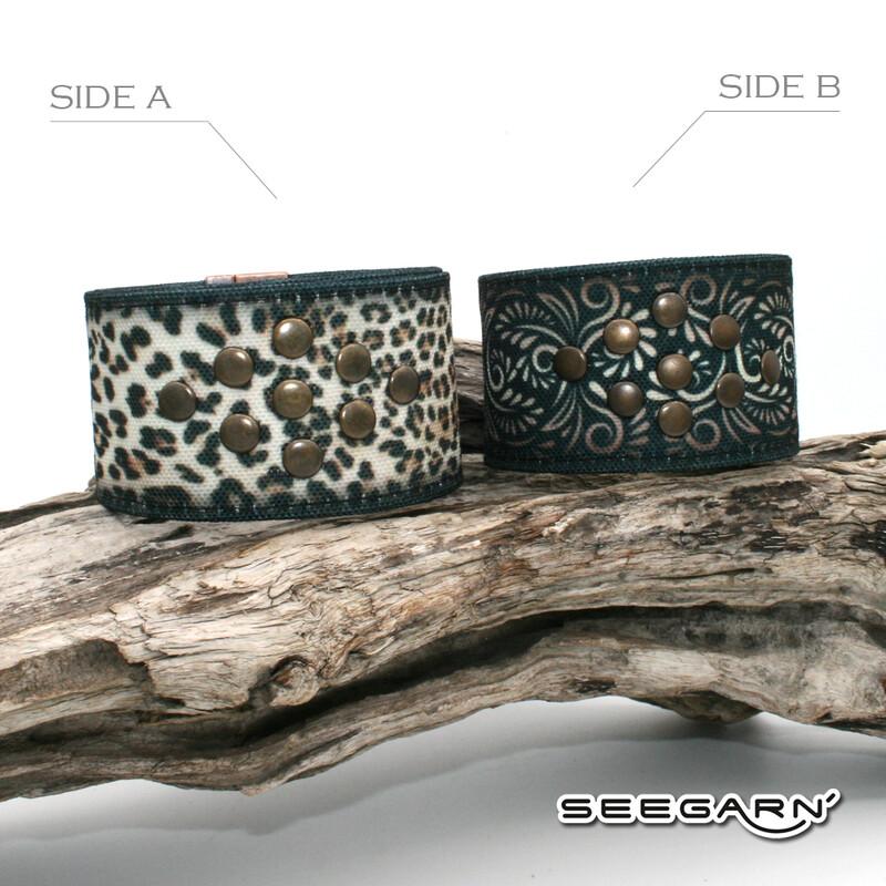 Seegarn Wende-Armband (Design M41 & M33)