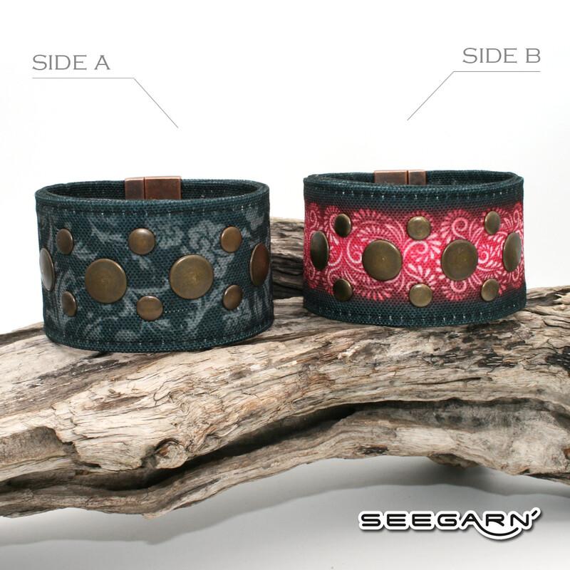 Seegarn Wende-Armband (Design M38 & M09)