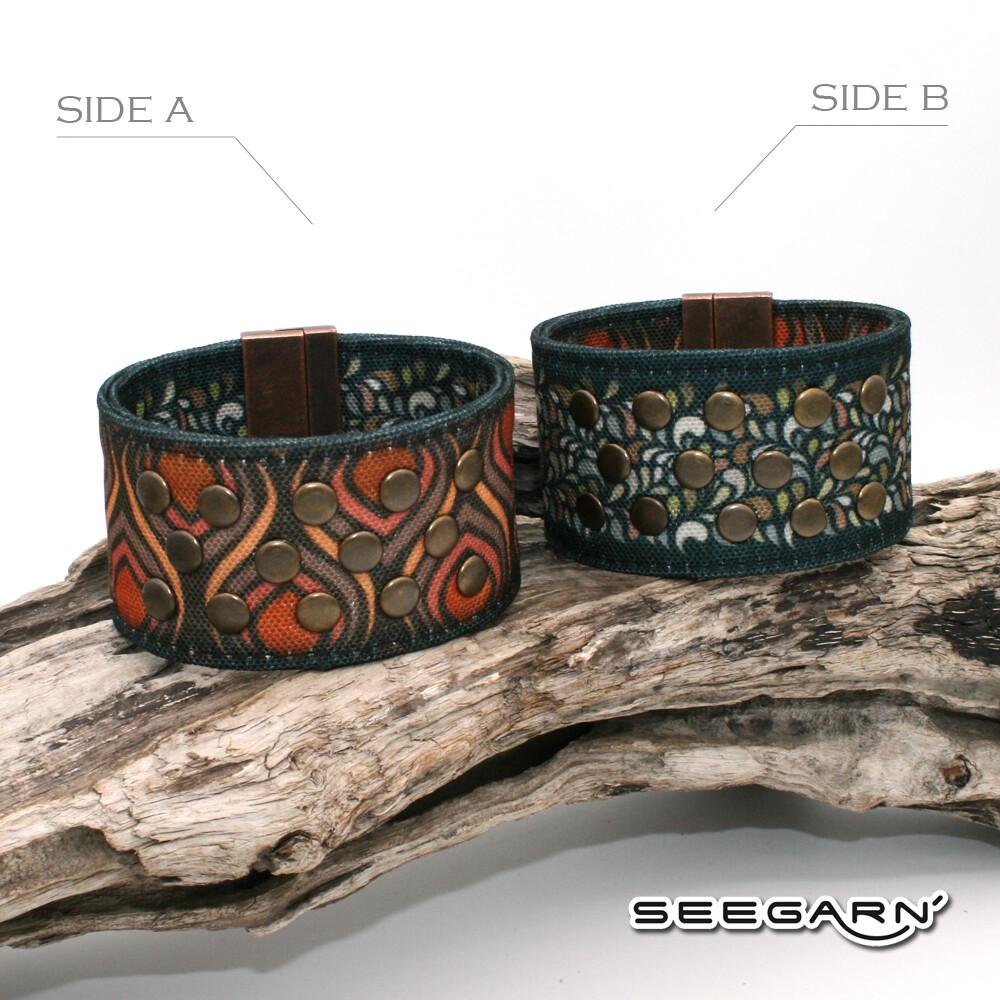 Seegarn Wende-Armband (Design M35 & M21)