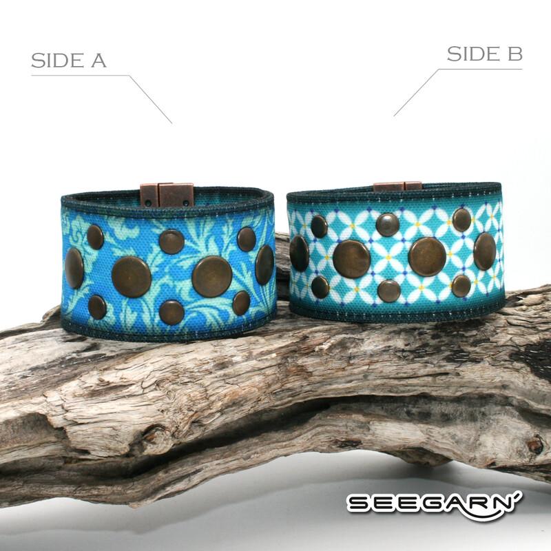 Seegarn Wende-Armband (Design M30 & M15)