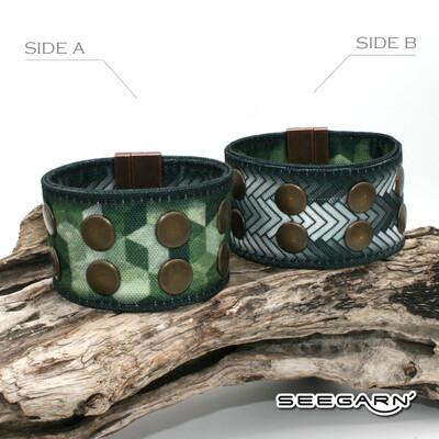 Seegarn Wende-Armband (Design M24 & M05)