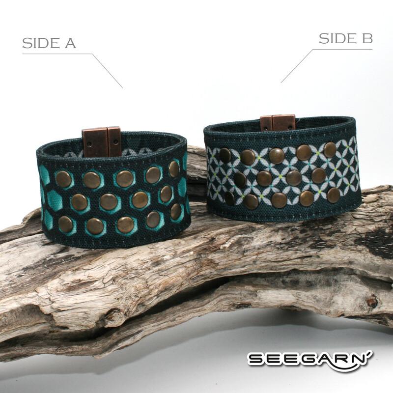 Seegarn Wende-Armband (Design M26 & M13)