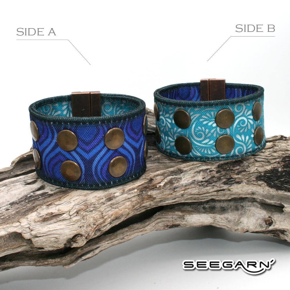 Seegarn Wende-Armband (Design M44 & M31)
