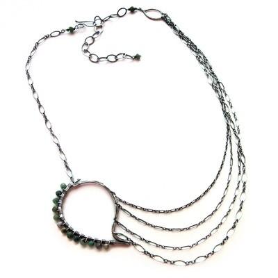 Paisley Necklace - Petite