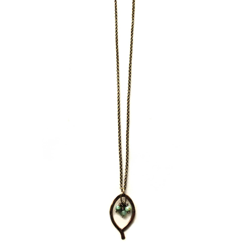 Mini Leaf Necklace