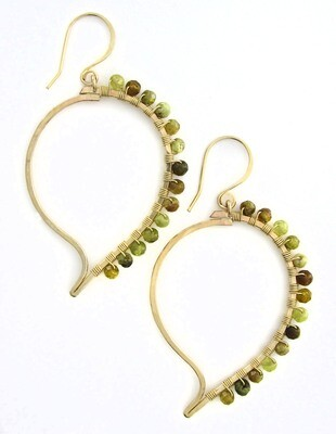 Paisley Earrings - 14k Goldfill