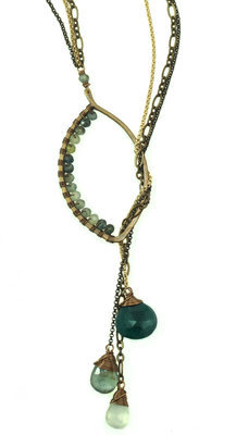 Lariat Necklace - Bronze