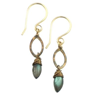 Drop Earrings - Bronze