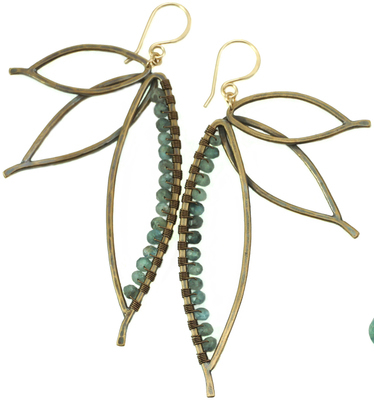 Paradise Earrings - Bronze