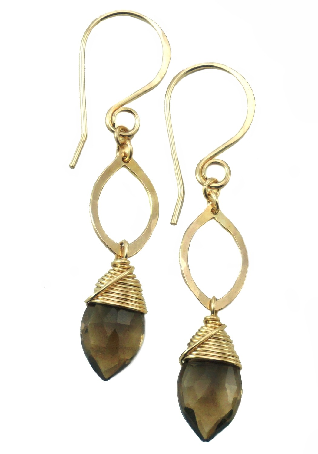 Drop Earrings - 14K Gold Fill