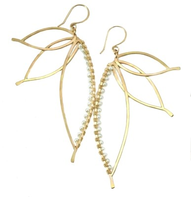 Paradise Earrings - 14K YGF