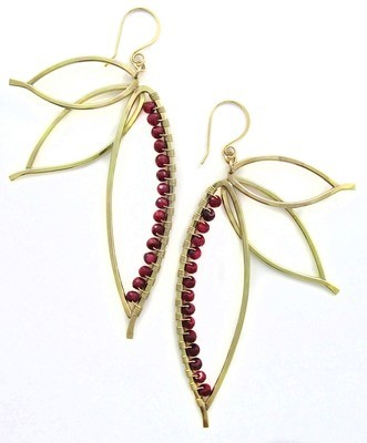 Paradise Earrings - 14k Goldfill