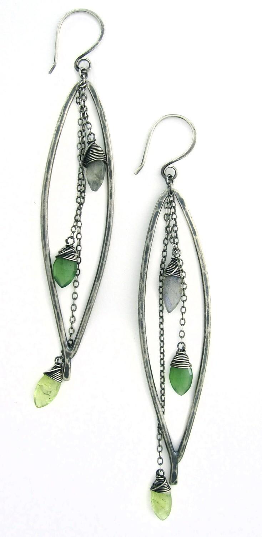 Bay Leaf Dangle Earring