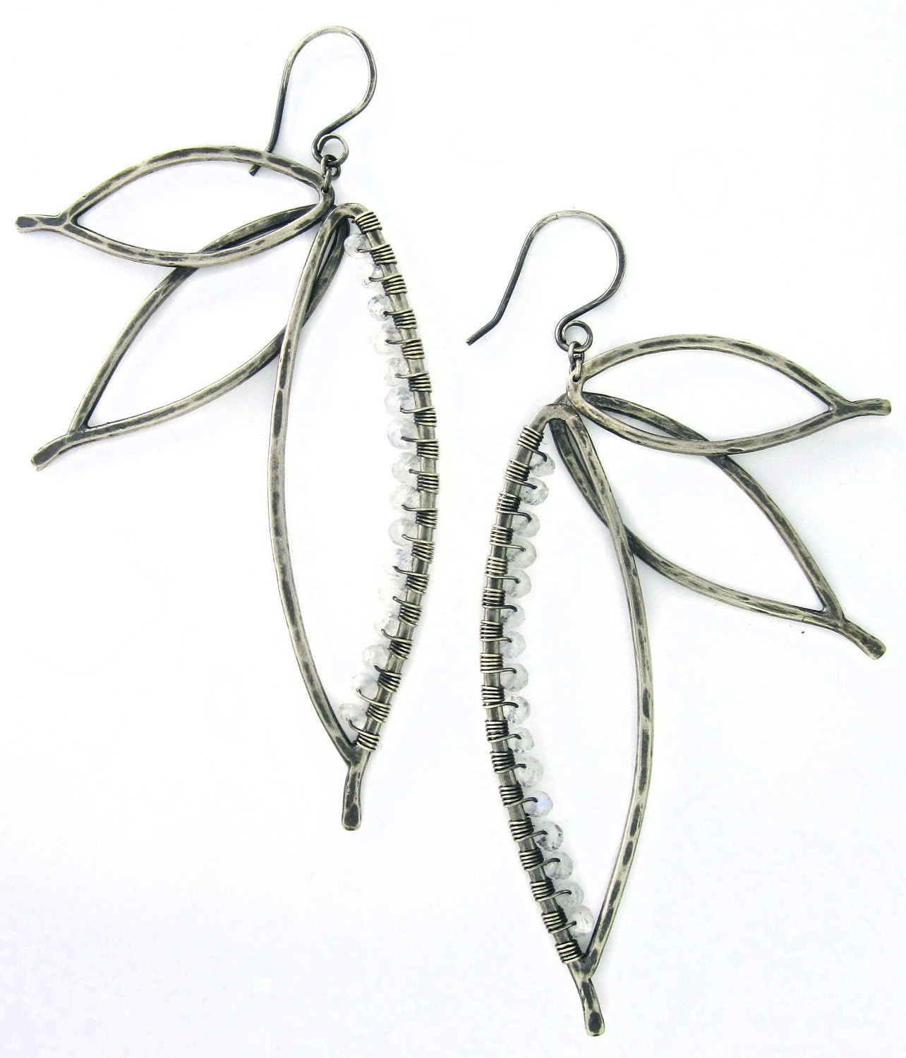 Paradise Earrings - Ox Silver