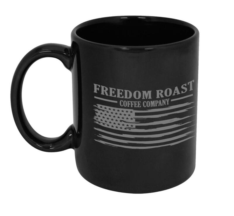 Freedom Roast Liberty Flag Coffee Mug