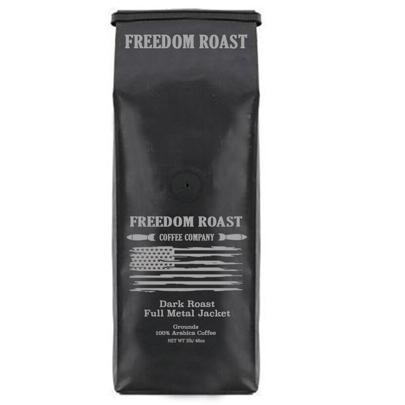 Freedom Roast Ground Dark Full Metal Jacket/ 3lb.Bag