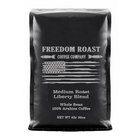 Freedom Roast Medium Liberty Blend 5lb. Bag