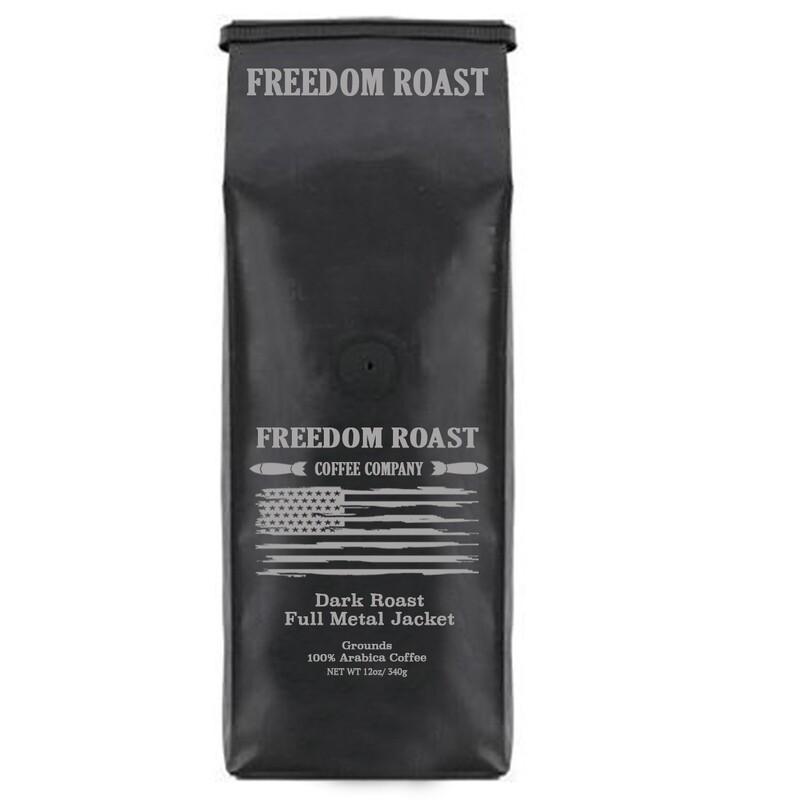 Freedom Roast Dark Full Metal Jacket/ 12oz Bag