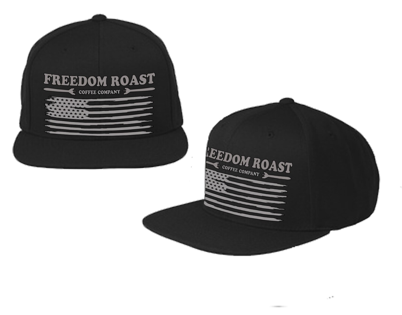 Freedom Roast Liberty Flag Trucker Cap