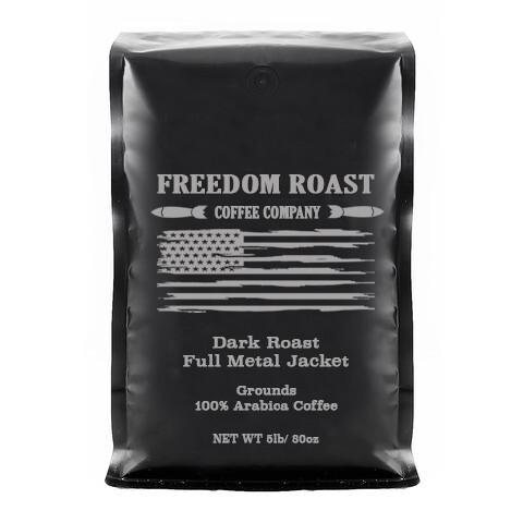 Freedom Roast Dark Full Metal Jacket/ 5lb Bag