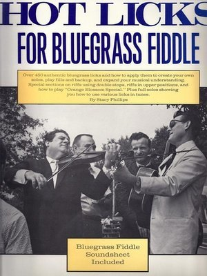 Hot Licks for Bluegrass Fiddle (eBook with MP3 recordings)