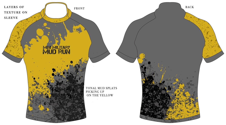 New 2019 Mini Mud Run Sublimated Tech T Shirts
