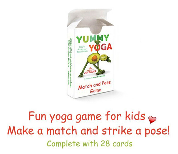 Yummy Yoga Match and Pose Card Game