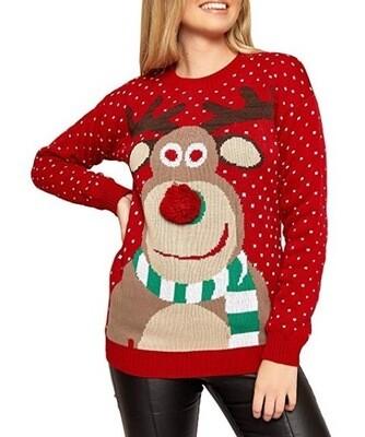 Christmas women's sweaters XXL