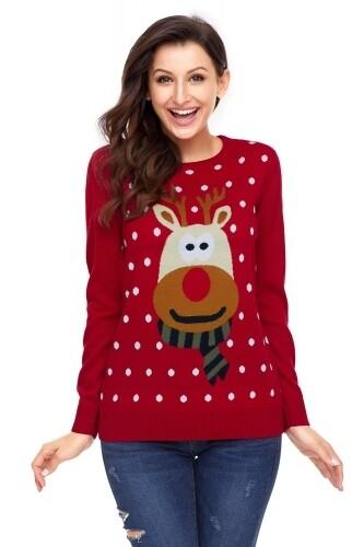 Christmas Women Sweater Small