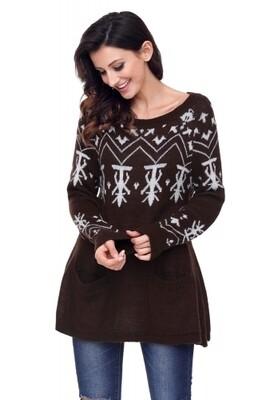 Christmas Women's Sweater Large