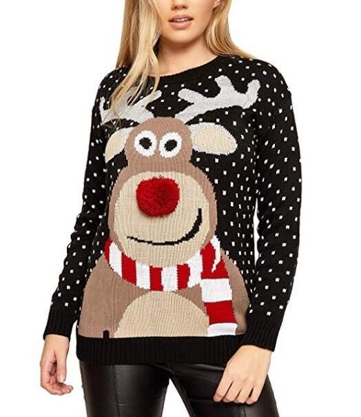 2019 Christmas Women's Sweater Xl