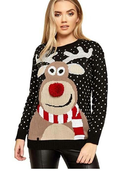 2019 Christmas Women's Sweater Large