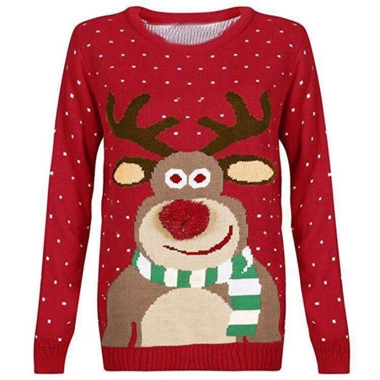 2019 Christmas Women's Sweater Medium