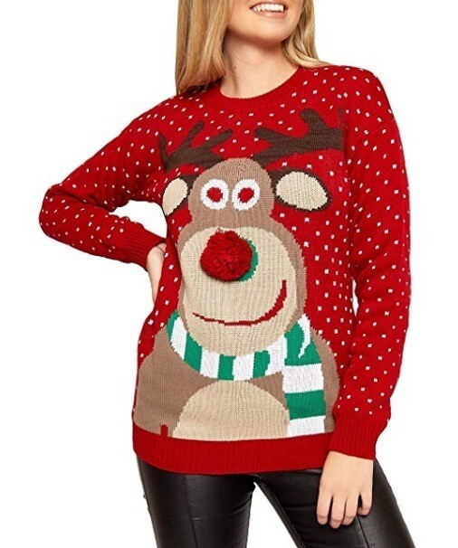 2019 Christmas Woman's Sweater Size: Small