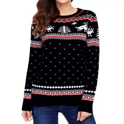 Christmas  Blouse Size:Large