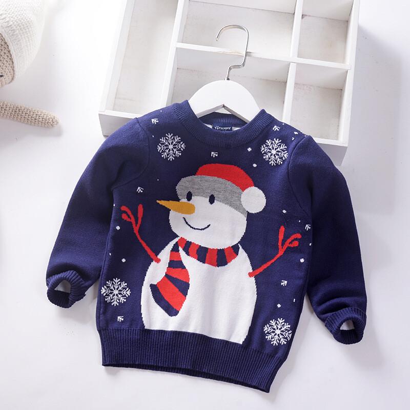 Christmas Children's Sweater Sizes:140(7-8years )