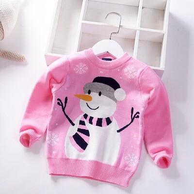 2019 Christmas Children's Sweater Sizes 110(3-4years)