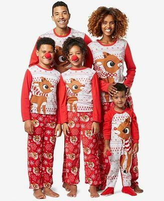 2019 Christmas Fashion family  Pajamas Size Xl  Men